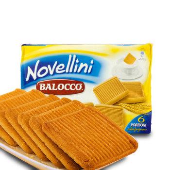 亏本大促Balocco意大利进口零食百乐可鲜奶蜂蜜饼干350g曲奇糕点