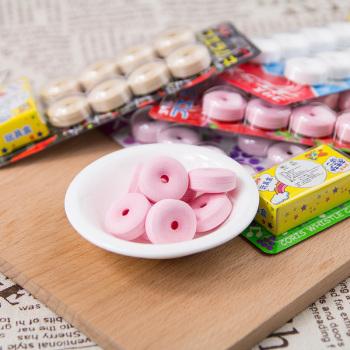 纯正日本进口零食品糖果可利斯糖口哨糖水果硬糖超市特产儿童小吃